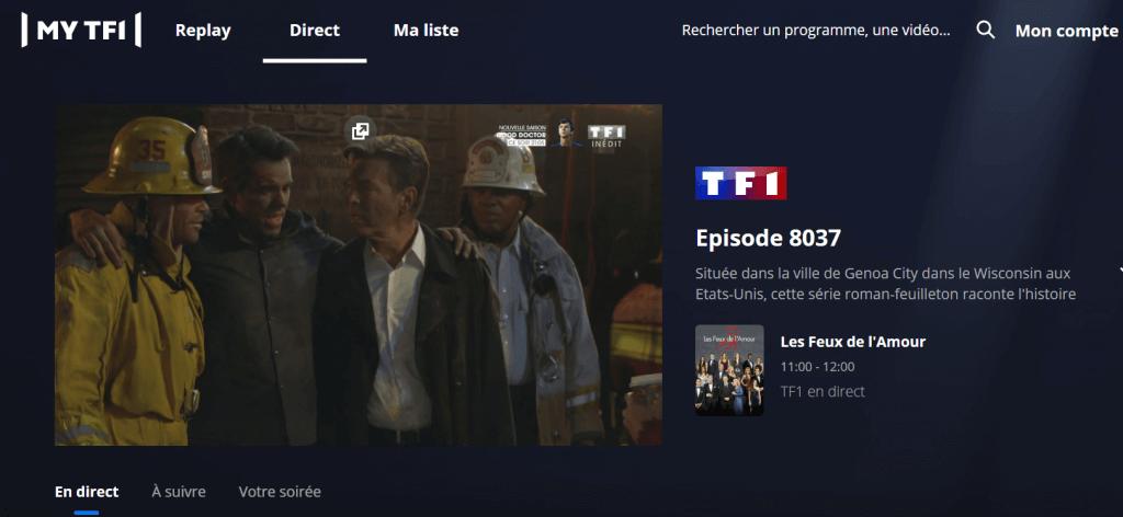 Comment voir TF1 en direct gratuitement?