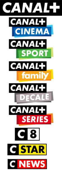 Que sont les chaînes de la famille Canal?