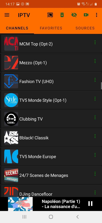 Quelles chaînes de télévision avez-vous avec Freebox?
